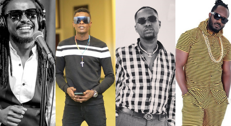Nyashinski, Jose Chameleone, GNako and Bebe Cool