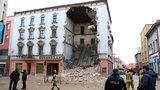 Zawaliła się ściana remontowanej kamienicy w Rybniku
