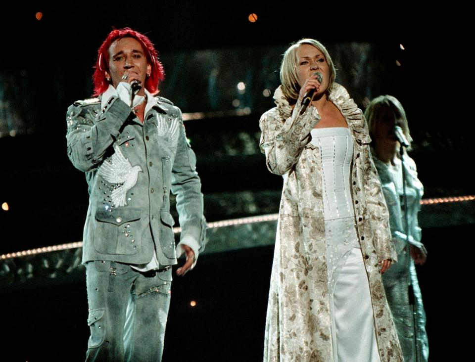 Eurowizja 2003: Ich Troje - miejsce 7. (zdjęcie pochodzi z próby generalnej)