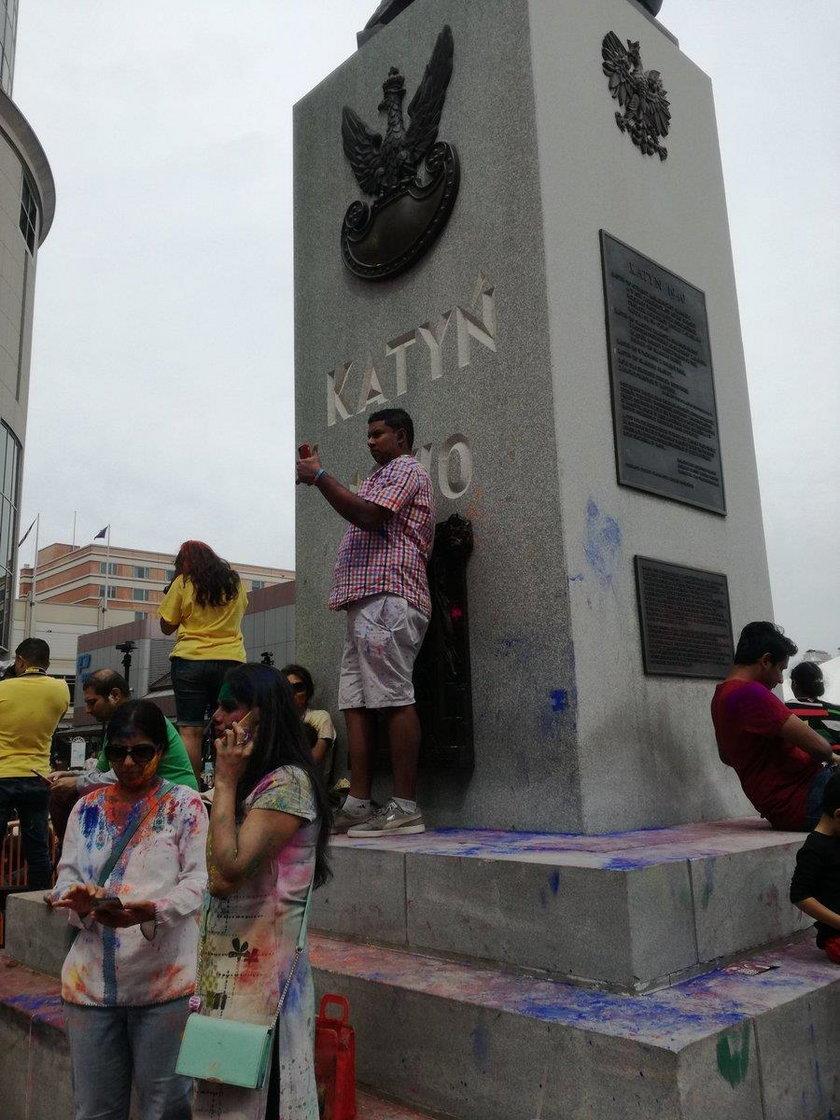 Urządzili imprezę pod Pomnikiem Katyńskim w Jersey City.