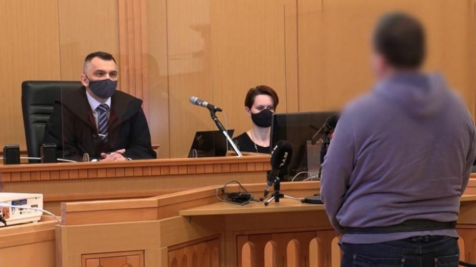 A férfi bocsánatot kért a bíróságon /Fotó: TV2