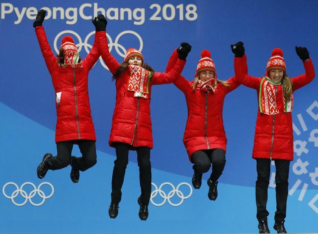 Beloruskinje slave trijumf u bijatlonu