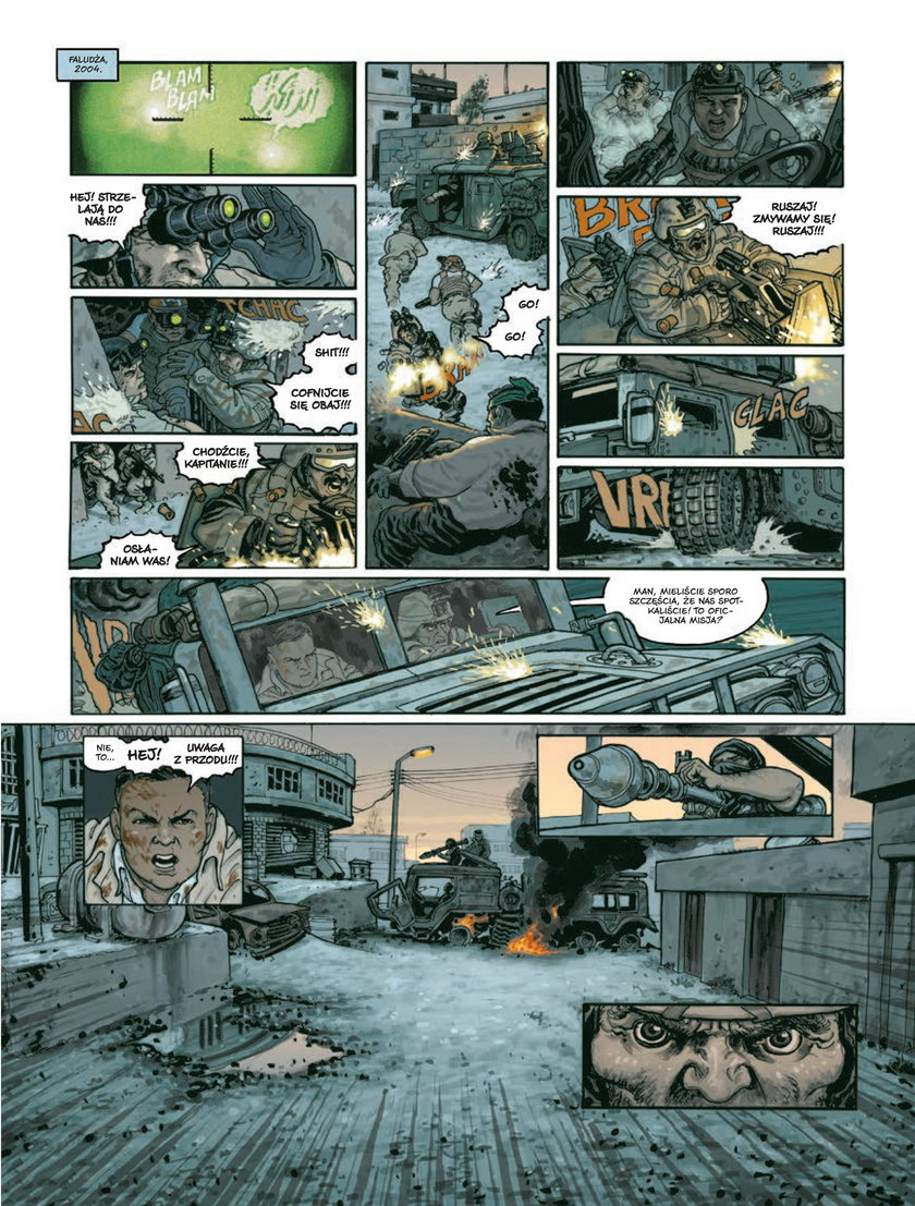Komiks wydało katowickie wydawnictwo NonStopComics