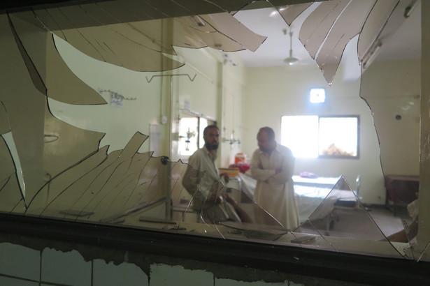 Zamach zamobójczy w Pakistanie. Widok ze szpitalnego okna