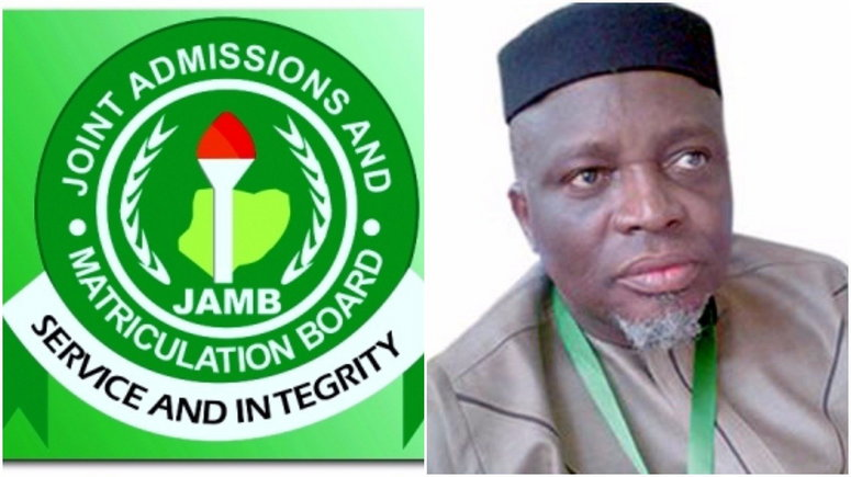 Registrar, Joint Admissions Matriculation Board (JAMB), Prof. Ishaq Oloyede [Punch]