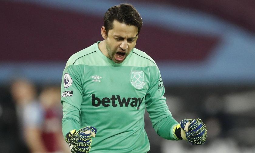 Łukasz Fabiański przedłużył kontrakt z West Ham United
