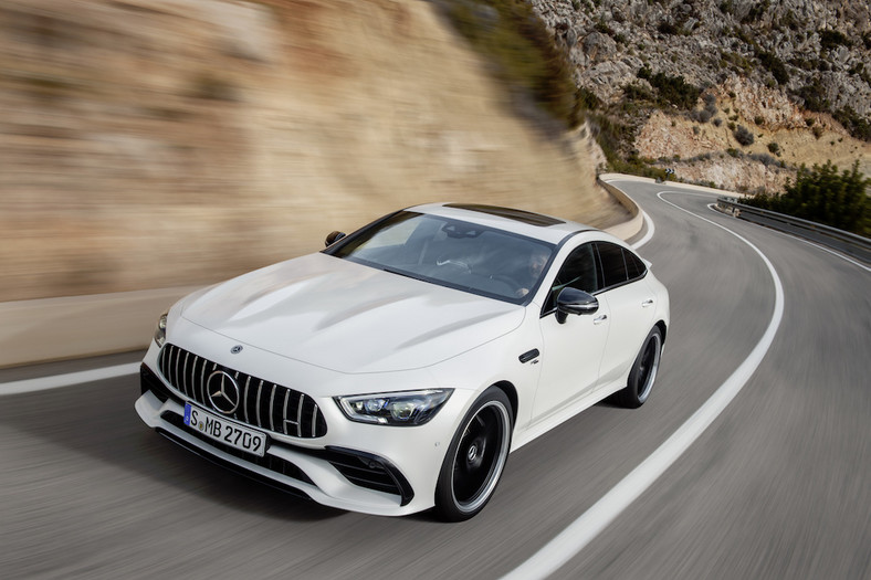 Mercedes-AMG GT 4-Door Coupe – Genewa 2018