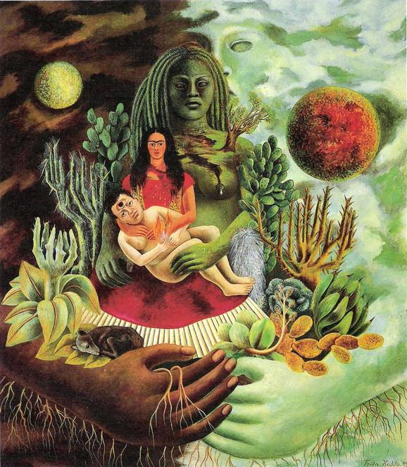 Ljubavni zagrljaj univerzuma, Zemlja (Meksiko), Dijego, ja i gospodin Šolotl, 1949.