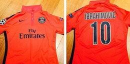 Zlatan podarował koszulkę synowi Beckhama. Zdjęcia