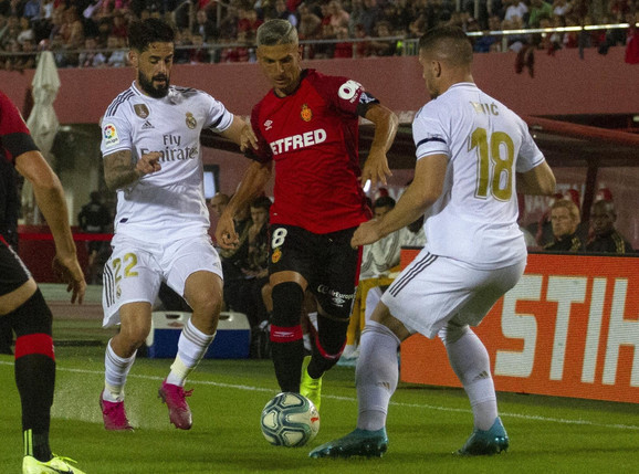 Luka Jović na meču Majorka - Real Madrid