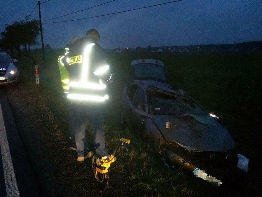 Tragiczny wypadek pod Olesnem