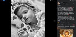 Pożegnanie 3-letniej Hani z Kielc. Do nieba poszybują balony...