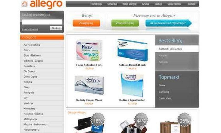 Przejmowali konta Allegro i oszukiwali internautów