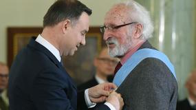Prezydent wręczył Ordery Orła Białego. Wśród uhonorowanych Franciszek Pieczka