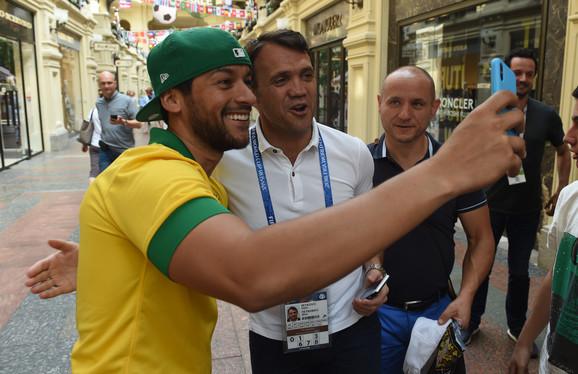 Legendu brazilskog fudbala zaustavljaju na svakom koraku u Moskvi