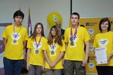 Srpski takmičari s medaljama