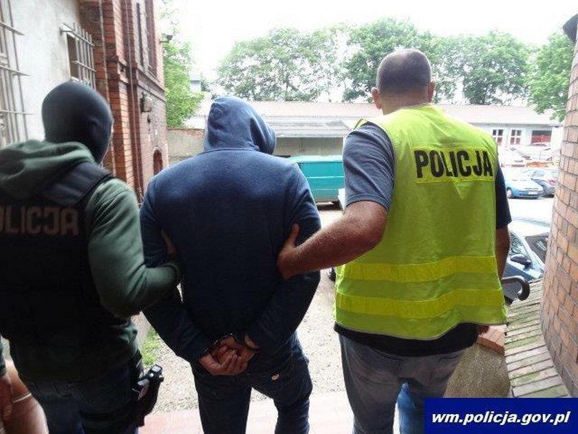 Rosjanin podejrzany o zabójstwo zatrzymany w Gronowie