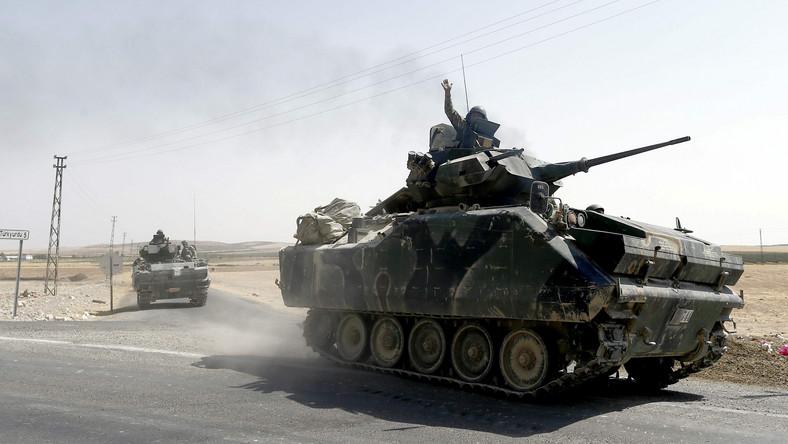 Tureckie wojsko w Syrii