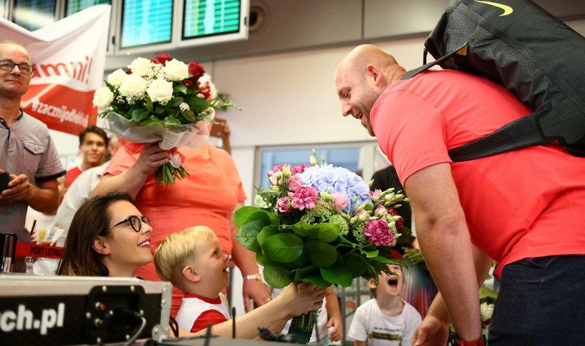 Nasz srebrny medalista igrzysk olimpijskich wrócił do domu