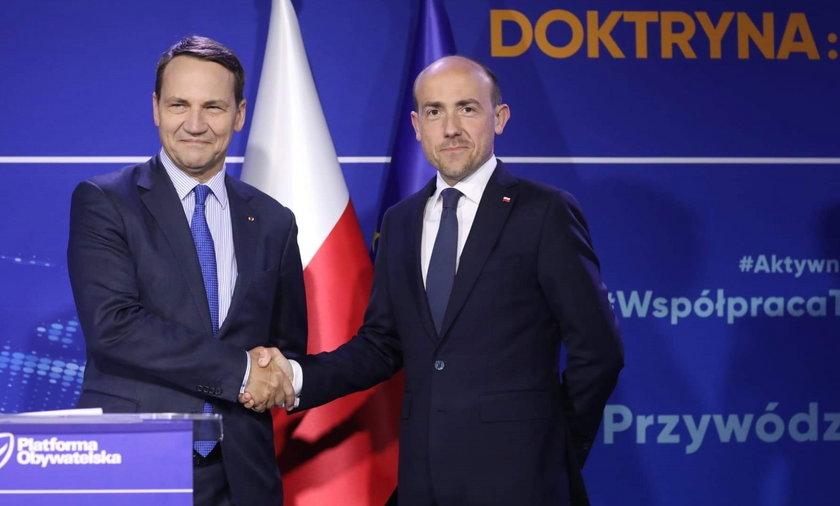 """Platforma Obywatelska przedstawia program polityki zagranicznej """"Bezpieczna Polska"""""""