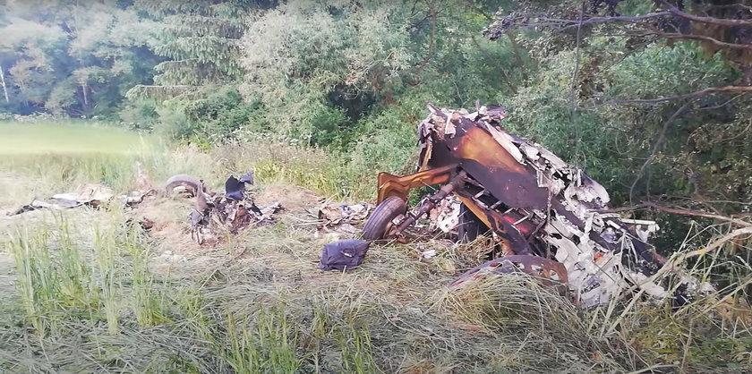 Katastrofa samolotu lecącego z Polski.