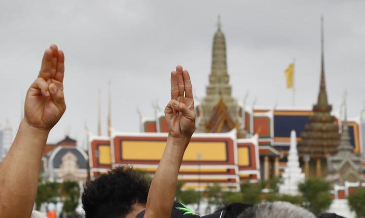 Protesti u Bangkoku