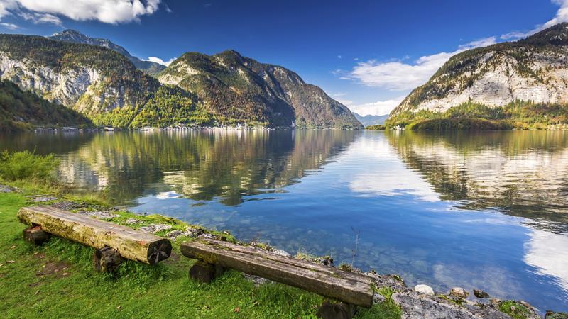 Widok na Alpy, Szwajcaria