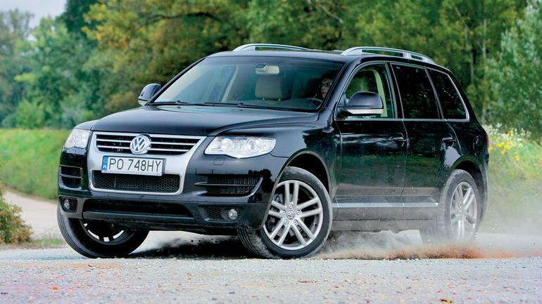 Volkswagen Touareg I - samochód uniwersalny