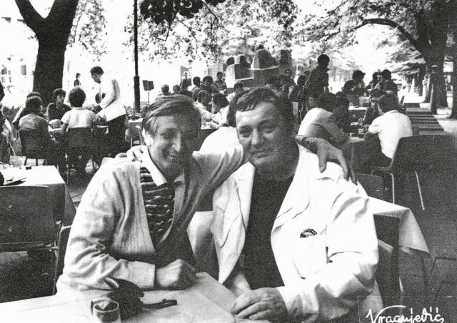 """Steva Kragujević i Libero Markoni u """"Šumatovcu"""""""