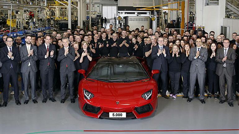 Jubileuszowy Lamborghini Aventador