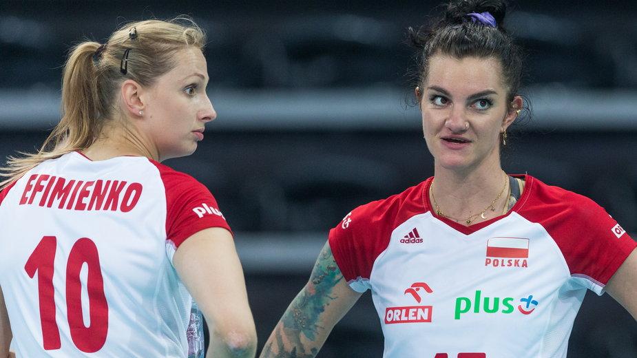 Zuzanna Efimienko i Malwina Smarzek