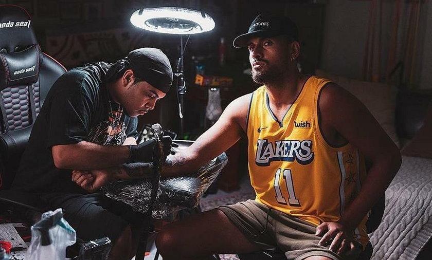 Nick Kyrgios zaprezentował niesamowity tatuaż