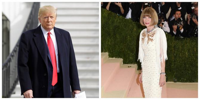 Ana Vintur i Donald Tramp