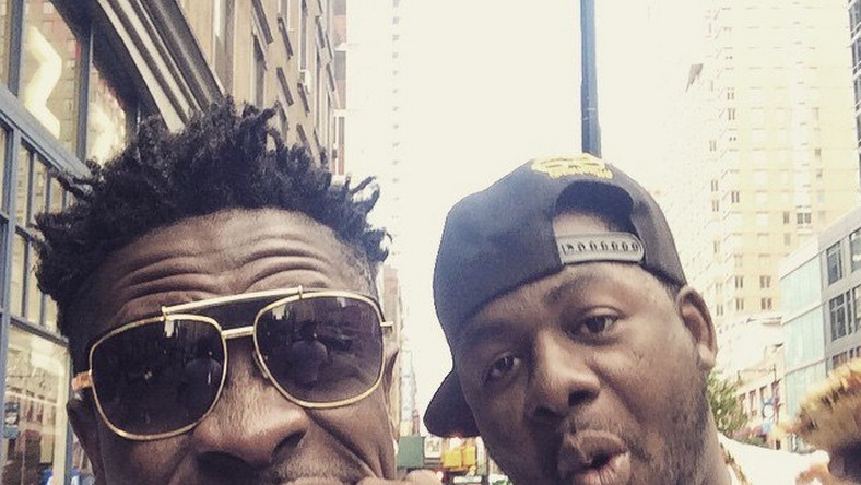 Shatta Wale and former manager, Bulldog