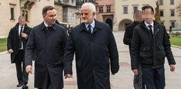 Andrzej Duda z rodzicami odwiedziłgrób Kaczyńskiego