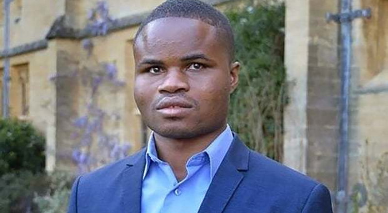 Ghanaian blind student manhandled and dragged out of Oxford debate says he feels worthless (video)