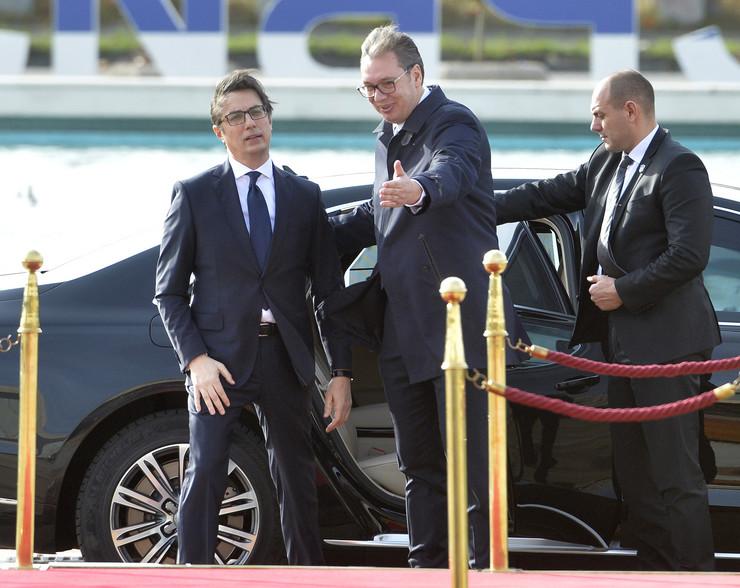 Aleksandar Vučić, Stevo Pendarovski