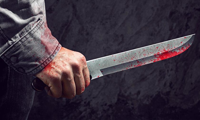 Napadł z nożem na kobietę w Krakowie. Wpadł przypadkiem, podczas domowej awantury