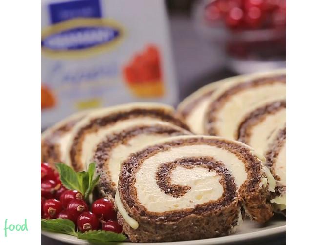 Rolat sa belom čokoladom: Ukusan biskvit i još ukusniji krem za potpuno uživanje!