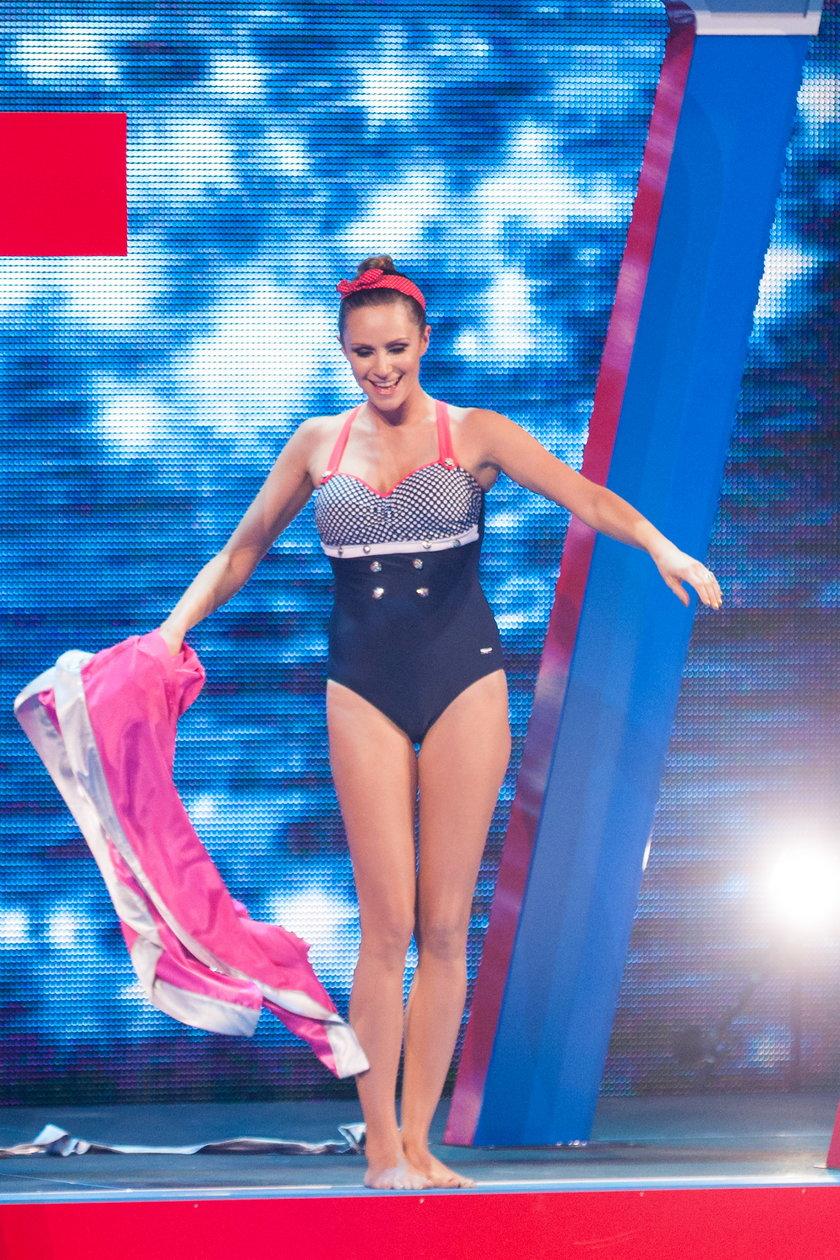 Monika Mrozowska w Celebrity Splash