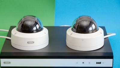 Abus Überwachungskamera-Set im Test: Sicherheit im Paket