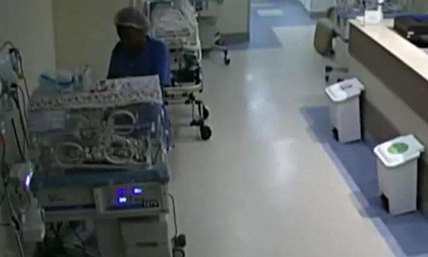 Pielęgniarka próbowała zabić noworodki? Wszystko się nagrało