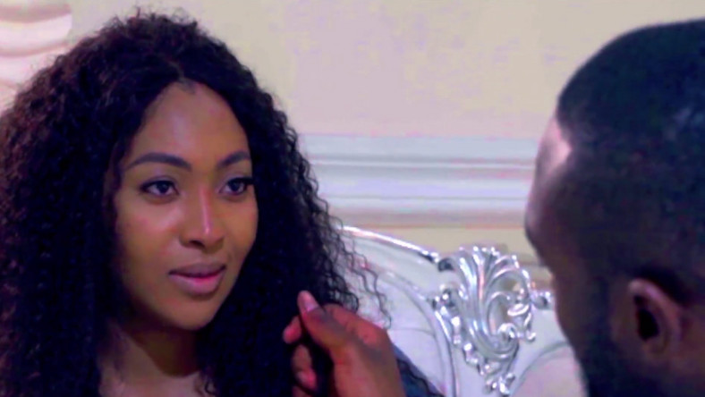 Lilian Esoro from a scene in the movie, 'Alter Date' [YouTube/Yemisi Banjoko]