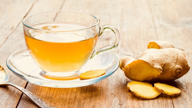 Ginger tea (Courtesy)