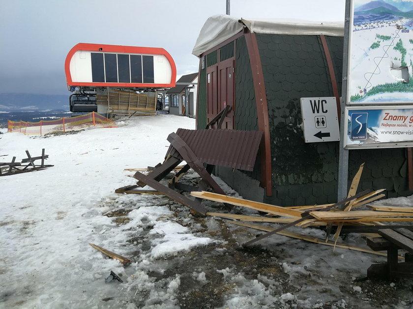 Bukowina Tatrzańska: dach zabił 2 osoby. Wypożyczalnia samowolą budowlaną?