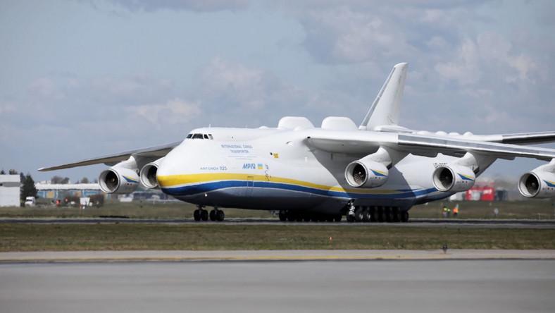 Lądowanie samolotu w Warszawie