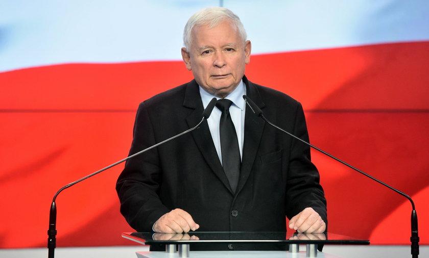 Jarosław Kaczyński chce odszkodowania od Niemców za obie wojny światowe.