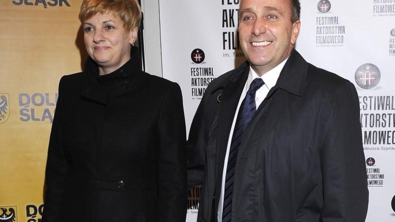 Para pojawiła się na gali otwarcia II Festiwalu Aktorstwa Filmowego we Wrocławiu