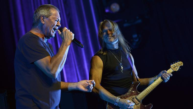 Deep Purple na koncercie w Szwajcarii