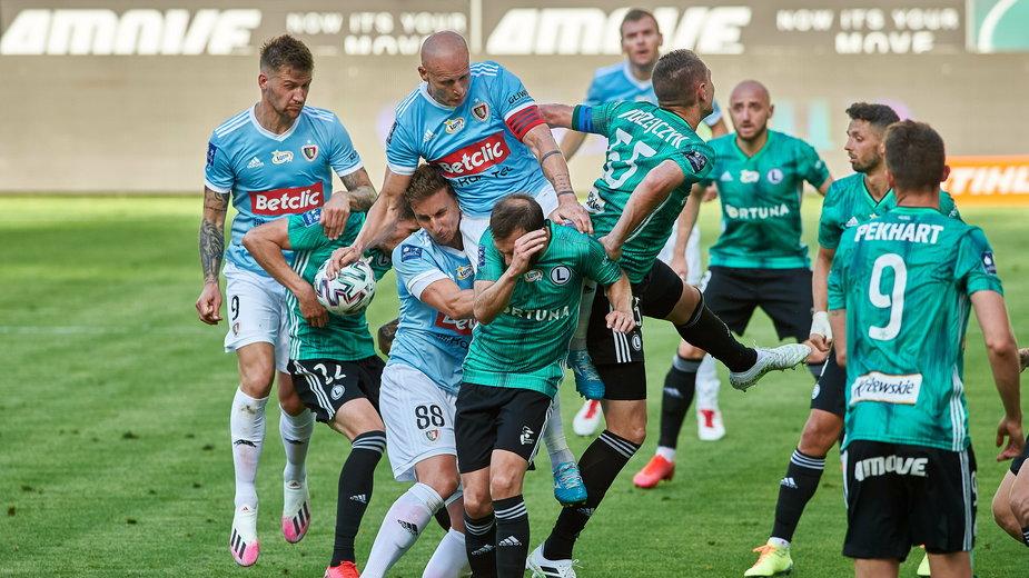 Ostatni mecz Piasta z Legią w Warszawie zakończył się remisem 1:1, ale dwa poprzednie wygrali goście z Gliwic.